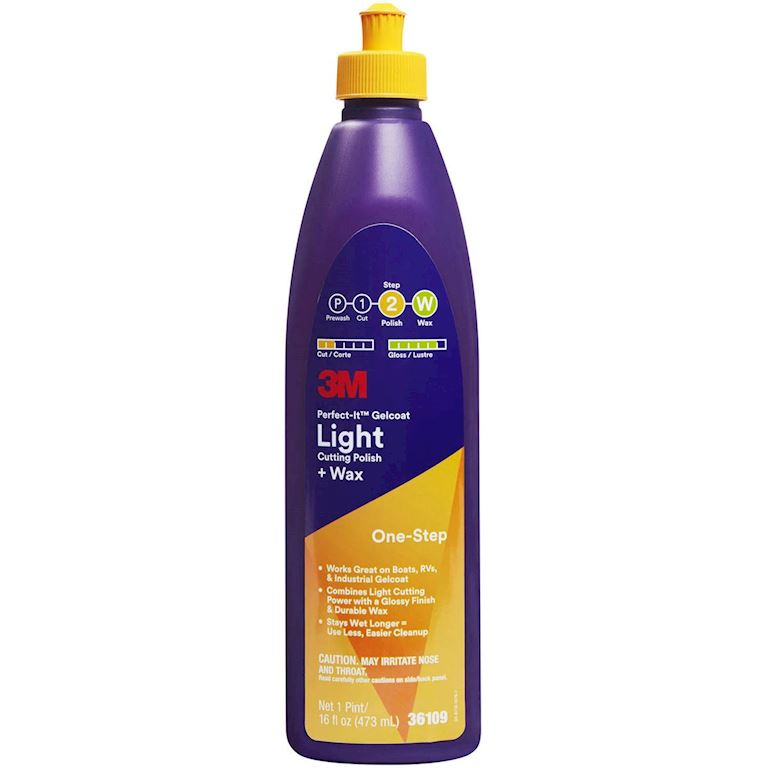 PERFECT 36109E PASTA/CERA LIGHT PER GELCOAT 36109E 3M 473 ML