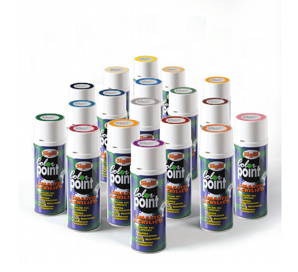 SPRAY GIALLO FLUO 400 ML