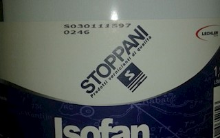 ISOFAN MARINE TOP COAT WHITE MATT L 1,9 (LSM0085L1.9)