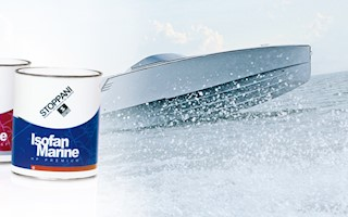 ISOFAN MARINE FAST FINISH ABSOLUTE WHITE 3.8 LT