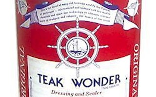TEAK WONDER DRESSING OLIO